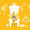 happy birthda party illu kor3