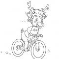rocky biken outline rz