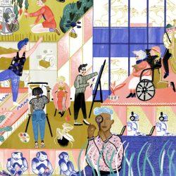 Wimmelbilder / Graphic Novel